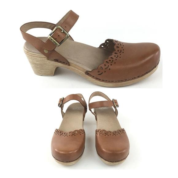117538f658b Dansko Shoes - Dansko Marta Leather Ankle Strap Clog Sandals